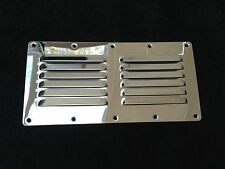 316 STAINLESS STEEL LOUVRED AIR VENT 115MM X 230MM /BOAT/CARAVAN/MOTORHOME