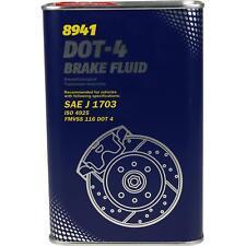 1L Original MANNOL Bremsflüssigkeit DOT-4 Brake Fluid Brems Öl