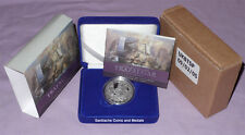 2005 ROYAL MINT BATTLE OF TRAFALGAR SILVER PROOF £5 CROWN - Full Packaging