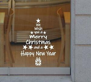 Christmas Wall Window Stickers Home Decor Supplies Xmas Ornament New Year