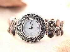 High Quality Stretch Wrist Watch Bracelet Elastic Band Strap Bangle Cuff Pink