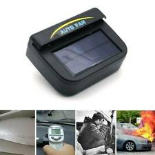 Black Auto Solar Powered Car Vent Window Fan For Vehicle Ventilator Air ba N&sl