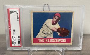 Vintage 1948 LEAF - TED KLUSZEWSKI - ROOKIE CARD - #38 - Good Condition