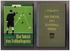 Arkadjew Die Taktik des Fußballspiels 1.  Auflage 1952