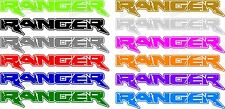 *TWO RANGER DECALS  FORD TRUCK SIDE GRAPHICS  PICK SIZE AND COLOR