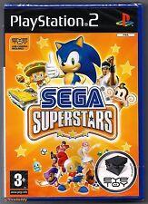 PS2 SEGA Superstars (2004), UK Pal, New & Sony Factory Sealed