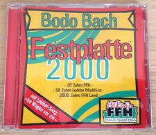Festplatte 2000 - Bodo Bach - 1998 - Comedy CD - Telefonspaß + Gags   neuwertig
