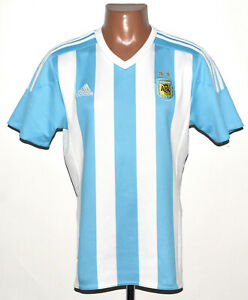 ARGENTINA 2015/2016 HOME FOOTBALL SHIRT JERSEY ADIDAS SIZE M ADULT