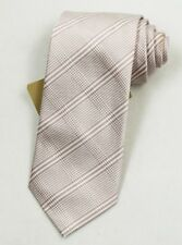 """NEW Burberry PINK Plaids Mans 100% Silk Tie Authentic Italy Made 3.5"""" 035036"""