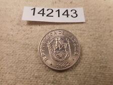 1980 Panama Cinco Centesimos Very Nice Raw Collector Grade Album Coin - # 142143