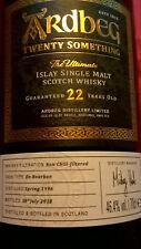 Ardbeg Twenty Something 22 ans!!! Islay Single Malt Scotch Whisky 46,4%!!!