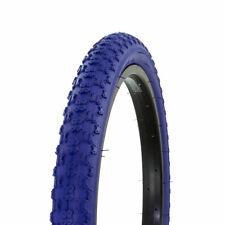 "NEW! Wanda Bike Bicycle Tire 20"" x 2.125"" DRK Blue Side Wall Comp3 BMX Freestyle"