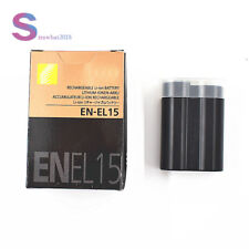 EN-EL15 Battery for Nikon D7100 D7200 D7000 D600 D610 D800 MH-25 MB-D15 US