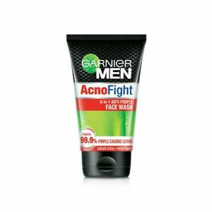 Garnier Men Acno Fight Anti-Pimple Facewash, 100g