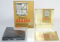 The Legend of Zelda NES Nintendo Complete CIB Authentic Tested NICE Circle Seal!