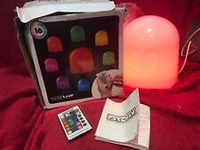 Pac-Man Ghost Lamp Colourful Light Pacman Retro Desktop Mood Colour Change