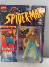 1994 Toybiz Spider-Man Peter Parker with Camera Accessory Sealed