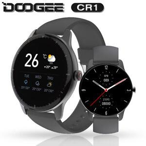 DOOGEE CR1 Fitness Smart Watch IP68 Waterproof Bluetooth 5.0 Deporte SmartWatch