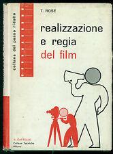 ROSE TONY REALIZZAZIONE E REGIA DEL FILM IL CASTELLO 1964 PASSO RIDOTTO CINEMA
