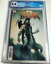 CGC 9.8 King Thor #1 Second Printing Variant Gorr the God Butcher White Pages