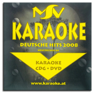 Karaoke DVD CDG CD+G - Deutsche Rock Pop und Chart Hits Vol.3 - Neuware