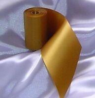 1x Gold Satin Wedding Car Ribbon 6m Long Fits all cars