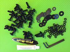 Fairing Bolt Kit for Triumph Sprint 955i 2002 on in BLACK