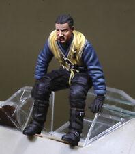 DEF. Model, DO32P01, WWII Adolf Galland (s' adapte sur BF-109E-4) (1 figure), 1:32