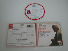 DEBUSSY+RAVEL/LA MER+BOLERO, BERLIN PHIL.+KARAJAN(EMI CDM 7 69007 2) CD ALBUM