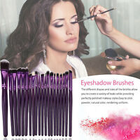 20XPro Makeup Pinsel Set Stiftung Pulver Lidschatten Eyeliner Lippen Pinsel tool
