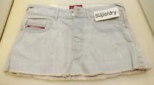 New Women's Superdry Authentic Vintage Raw Mini Skirt, waist 26
