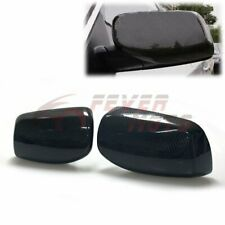 Real Carbon Fiber Door Mirror Cover Trim Fit For 2004-2007 BMW E60 5-Series FM