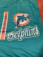 Vintage Miami Dolphins Comforter & Pillow Sham