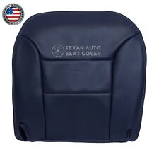 1995-1999 Chevy Suburban C/K 1500 2500 LT LS Driver Side Bottom Seat Cover Blue