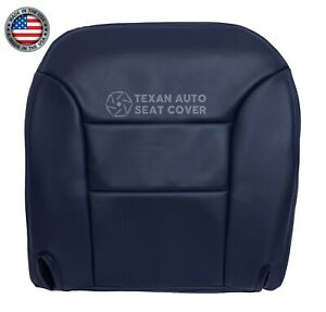 1999 Chevy Silverado C/K 1500 2500 LS Driver Bottom Replacement Seat Cover Blue