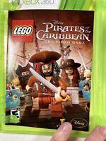 LEGO Disney Pirates of the Caribbean Xbox 360 game COMPLETE w/ Manual CIB