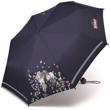 SCOUT Regenschirm Flower Horses Schirm für Mädchen
