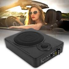 8'' 600W Slim Active Car Audio Subwoofer Under Seat Power Supper Bass Sub Box