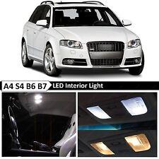 2004-2008 Audi Avant A4 S4 B6 B7 22x White Interior LED Lights Package Kit