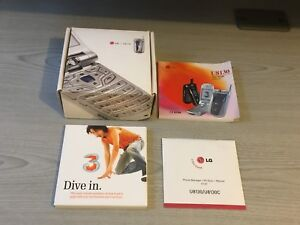 LG Mobile Phone U8130 Three BOX Instruction User Guide book & CD ROM ONLY