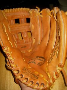 Vintage Spalding Jim Rice PLAYER SERIES right hand thrower U.S.A. leather glove