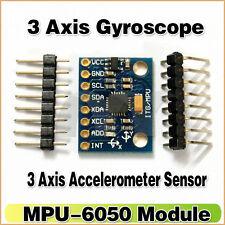 MPU-6050 6DOF GY521 Module 3 Axis Gyroscope   3 Axis Accelerometer for Arduino