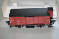 Fleischmann 5355 2-Achser gedeckter Güterwagen G mit Bremserhaus Spur H0 OVP