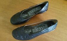 Easy spirit brand black leather size 8.5N pumps replacement insole pumps guc