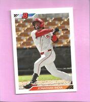 2020 Bowman Heritage Prospects Jonathan India BHP-73 Cincinnati Reds