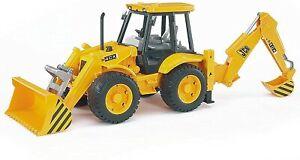 ⚡⚡⚡ BRAND NEW Bruder Toys 02428 JCB 4CX Loader Backhoe - FREE SHIPPING ⚡⚡⚡