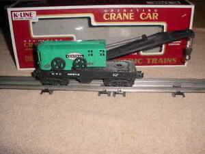 K-LINE OPERATING CRANE CAR # X6813 , NEW YORK CENTRAL       0-027
