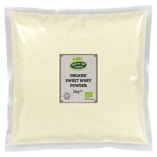 Organic Sweet Whey Powder 2kg Certified Organic
