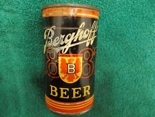 New listing Berghoff 1887 Low Profile Cone Top Beer Can Dortmunder Style Missing Top Ftwayne