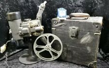 Antique Bell & Howell Filmo 57 16mm Projector w/ Case/Extra Lamp WORKS 100yrsold